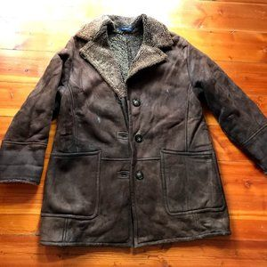 Vintage Coach Shearling Jacket